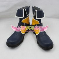 Wholesale Kingdom Hearts Sora short ver Cosplay Boots shoes shoe boot CQ094 anime Halloween Christmas