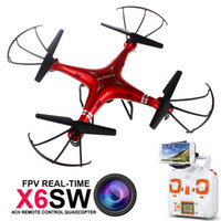Wholesale DHL G Maxtec X6sw Camera Drones gopro accessories professional drones remote control real time transmission helicopter without Aerial camera