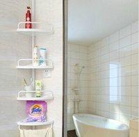 bathroom corner stand - 2015 High Quality Four Layer Bathroom Kitchen Bathroom Shelves Standing Type Floor Corner Shelf Essential Bathroom Racks