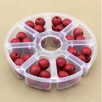 Wholesale New Durable Useful Mini Grids Compartment Nail Art Phone Beads Rhinestone Gems Plastic Storage Box Case DIY