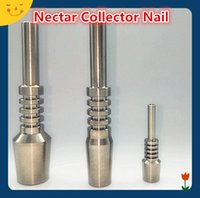 Wholesale Nectar Collector Titanium Nail mm mm mm Inverted Nails tips Grade Titanium Tip dab rig