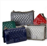 Wholesale HOT New Fashion Jelly Women Messenger Bags Silicon To Boy Women High Quality Handbags High Quality Shoulder Bags