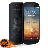 amoled touch screen - Original Yota Yotaphone quad core dual screen G LTE quot dual screen AMOLED wireless charger gb ram gb rom mp mah free ship
