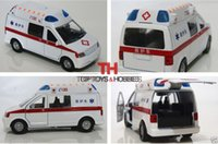 ambulance vehicle - 1 White Ambulance Car Pull Back China Medical vehicles Toys Model Alloy Diecast Car w Light amp Sound Collections Kids Toys