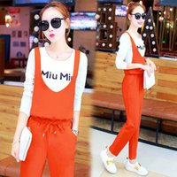 bamboo pants tall - Vogue of new fund of autumn dress nine points wide legged pants suit two tall waist han edition temperament fashion