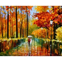 autumn wallpapers - Diy Diamond Painting home decor Novelty d Square Full Diamond Embroidery Pattern Autumn room wallpaper X37CM HWD