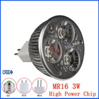 led m16 - Warranty Years LED Spotlights Downlights Led W M16 CREE High Power Bulbs Lights Led SpotLights Lamp AC DC V CE UL