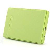 Wholesale Green Inch TB Portable USB SATA Hard Disk Drive Enclosure External Cover Box