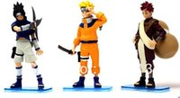 base tv stand - 1 set set Naruto Figures Collection with Stand Base Perfect gift retail