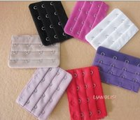 Wholesale Bra Extenders Strap Extension Hooks Rows Clasp Strap Intimates Accessories For Women WC1067