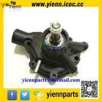 Cheap Mitsubishi S4F S2E S3E S4E S4E2 water pump 34545-00013 34545-1001 for Forklift S4F S3E S4E diesel engine repair parts