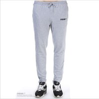 Cheap Gymshark muscle brothers who autumn wear men's casual pants pants for fitness and feet pants men's trousers