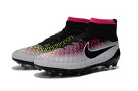 100 cotton fabric - Nike Magista Obra FG with ACC green red size Cleats Laser good quality shoes Soccer Shoes Football Shoes
