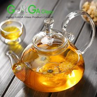 art teapots - ml glass teapot glass lid and filter high borosilicate glassware
