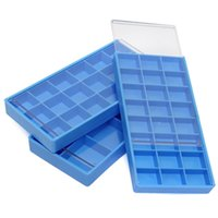 best jewelry storage - Best Promotion Grid Blue Storage Box Case Container For Hook Tiny Jewelry Watch Fitting Watch Repair Tool