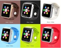 Wholesale A1 W8 Apple Smart watch Smartwatches with Anti lost Sleep Monitor for Iphone Android Phone Smart Watch