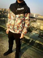new design men jacket - 2016 New Summer Autumn Men s Sunblock Jackets Hooded Letter Character Print Zipper Male s Coats Sunscreen Zipper Short Outerwear PJ002