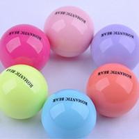 TuTu ball sphere - 3D Lipstick New Makeup Round Ball Moisturizing lip balm Natural Plant Sphere lip Pomade Fruit Embellish lip Care
