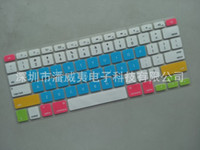 Wholesale Silicone Keyboard Skin Cover Film For macbook Pro Retina quot quot quot inch color Panda Owl flower keyboard Protector for mac book