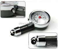 Wholesale New Dial Tire Tyre Air Pressure Gauge Car Motorcycle lots120
