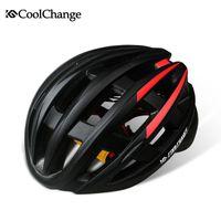 Wholesale Cycling Helmet Ultralight Bicycle Helmet Air Vents Integrally Molded Helmet MTB Road Bike Bicycle Helmet with Tail Light