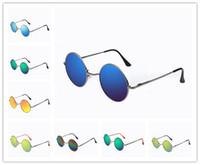 american eyewear - 2016 New Hot UV400 Designer Sunglasses For Men Colors American Retro Small Sunglasses Casual Men And Women Eyewear