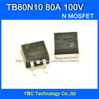 Cheap Wholesale-Free Shipping 10pcs lot 80N10 TB80N10 80A 100V 15MR 260W TO-263 N Channel MOSFET MOS FET Field Effect Transistor