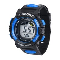Sport amazing digital watches - Paradise Amazing Hot New Men s Waterproof Watch LED Digital Sports Watch Silicone Square Wristwatch July05