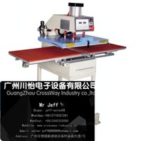 Wholesale Pnuematic heat press automatic transfer with two station