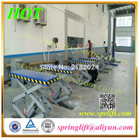 car lift - In ground double scissor lift for car lifting CE approve model SP K3000