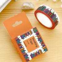 amazing tape - Box New CM Wide Amazing Library Books Washi Tape DIY Scrapbooking Sticker Label Masking Tape School Office Supply H1277