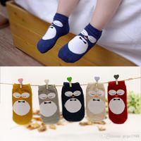 baby jane socks - Kids baby girls boys Animal Owl Jane Socks kids socks T BY011
