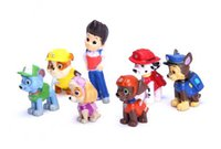 Wholesale 12pcs set Patrol Dog Toys Dolls Action Figures Patrol Pup Buddies Figures Toys Anime toys Kids Toys Gifts
