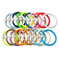 Wholesale Promotion Cheap Hot sale Stardust Mesh Bracelets With Crystal Filled Magnetic Clasp Charm Bangles