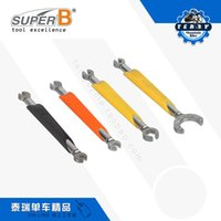Wholesale Super B Bicycle Repair Tools spoke wrench spanner tools with Comfortable handle two sided fit