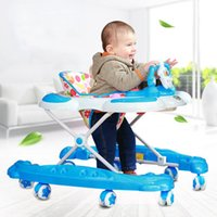 activity walker - Hot Selling Baby Walker with Wheels Multi Use Toddler Musical Learning Activity Toys Musical Folding Infant Walkers JN0079