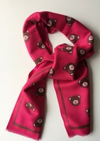 baby honey bear - Cute Lovely Japan Honey Style Kids Boy Girl Little Bear Print Cotton Scarf Warm Ring Gift for Baby