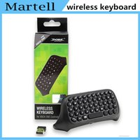 Cheap 2016 new Bluetooth Mini Wireless Chatpad Message Game Controller Keyboard for Xbox One Controller with 2.4G Receiver