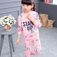 best dress dot - Girl Dress Best Suits Child Clothes Kids Clothing Autumn Long Sleeve T Shirt Long Trousers Children Set Kids Suit Outfits Ciao C26553