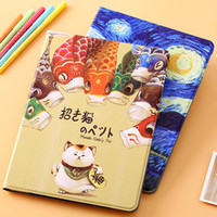 anti colouring book - New Fashion iPad Pro quot Case Cover Apple Tablet Protector Holder Coloured Paiting PU Leather Book Stand Cover Folding Auto Sleep Wake