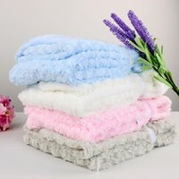 Wholesale 2016 new baby blankets newborn baby swaddle X102cm soft and comfortable swaddleme newborn photography props blanket fleece blanket