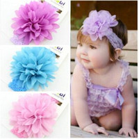 beautiful baby animals - 2016 New Arrival Baby Toddler Head Flower Hair Accessories Chiffon Lace Beautiful Girl Headbands Headwear Kids Hair Bands