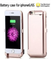 7'' bank charger for galaxy - Factory Price New Cheap HOT SALE Power bank case external battery case for Iphone and samsung Galaxy S7 S7 edge S6 S6 edge Note UPS
