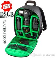Wholesale New Pattern DSLR camera Bag Backpack Photo Bags for Camera d3200 d3100 d5200 d7100 Camera Backpack