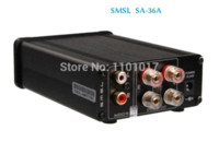 Wholesale SMSL SA A Pro Digital Amplifier HIFI EXQUIS TDA7492PE chip New version amps with v power supply