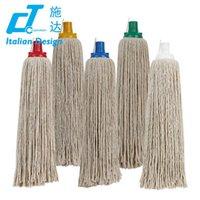 aluminum round rod - Cotton Mop Head Material floor cleaning mop round mop head for cleaning floor Cotton mop refill G