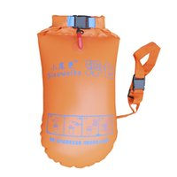 Wholesale Genuine small tail stooge double balloon drifting bags swim bag swim inflatable floats can be mounted laundry equipment