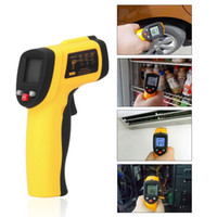Wholesale BENETECH Digital Non Contact To degree LCD IR Laser Infrared Thermometer Themperature Measurement Electronic Point Gun