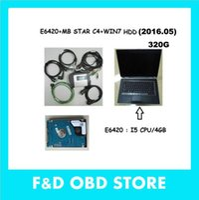 Precio de Herramientas de disco duro-Mejor precio Pro Kits Super MB Star C4 herramienta de diagnóstico SD conectar con E6420 Laptop i5 CPU + último software HDD (WIN 7 V2016.09)