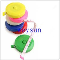 Wholesale Retractable Ruler Tape Measure inch Sewing Cloth Dieting Tailor